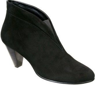 David Tate Leather Booties - Natalie