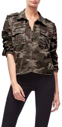 Good American The Military Jacket - Camo001