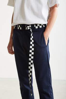 Urban Outfitters Checkered Extra Long Web Belt