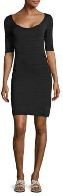 Elizabeth and James Lydia Textured Scoopback Dress