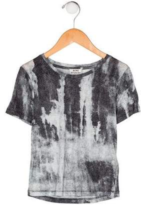 Acne Studios Boys' Printed Short Sleeve Shirt