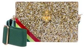 Edie Parker Confetti Box Clutch