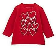 Stella McCartney Infants' Heart-Print Cotton T-Shirt - Red