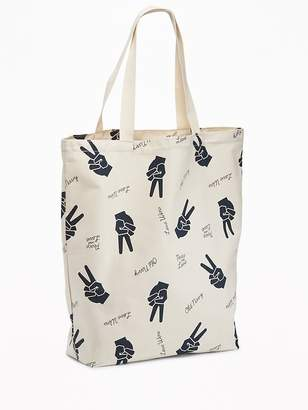 Old Navy Peace Graphic Tote for Women
