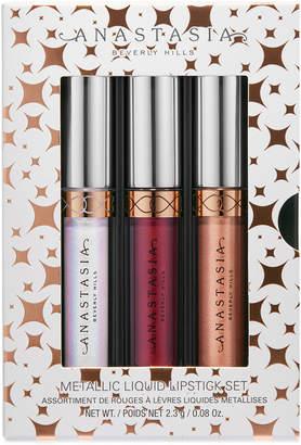 Anastasia Beverly Hills 3-Pc. Holiday Mini Metallic Liquid Lipstick Set, A $42 Value!