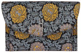 Hayward Bobby Brocade Floral Clutch Bag