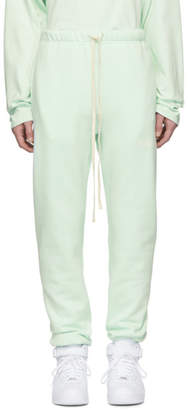Essentials Green Fleece Lounge Pants