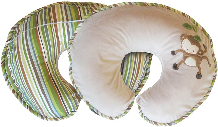 Boppy Luxe Pillow - Elephant Garden