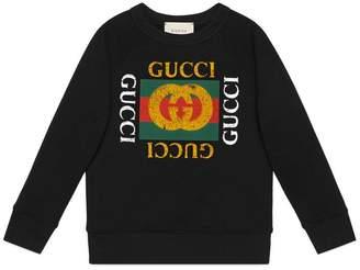Gucci Children's sweatshirt with logo