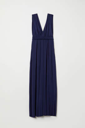 H&M Multiway Long Dress - Blue