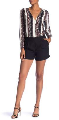 1 STATE 1.State Long Sleeve Cross Front Romper