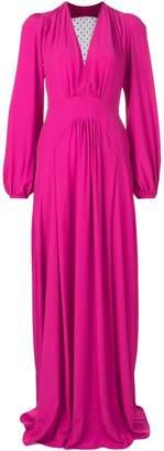 No.21 plunge neck gown