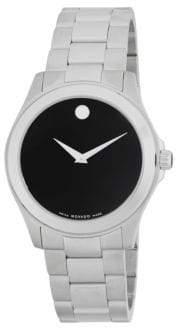 Movado Stainless Steel Bracelet Watch