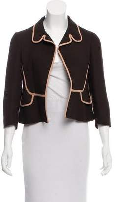 Marni Wool Open-Front Jacket