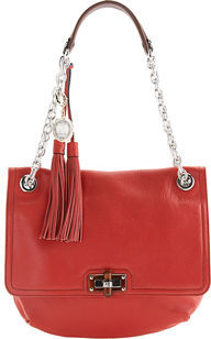 Lanvin Happy PM Bag - Poppy Red