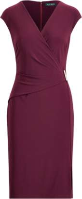 Ralph Lauren Cap-Sleeve Jersey Dress