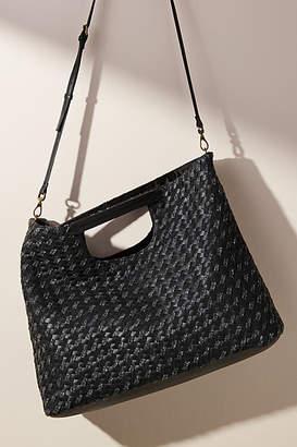 Anthropologie Cara Woven Crossbody Bag