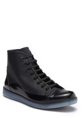 Bugatchi Diana High Top Sneaker