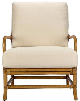 Selamat Ava Rattan Lounge Chair - Nutmeg
