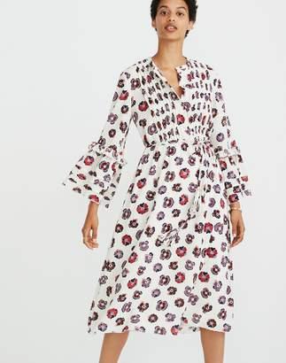 Madewell x Karen Walker Floral Fantasia Ruffled Dress