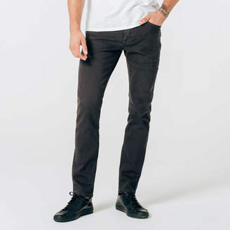 DSTLD Skinny-Slim 12.25 oz. Stretch Denim Jeans in Charcoal