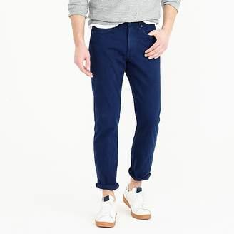 J.Crew 770 straight jean in garment-dyed American denim