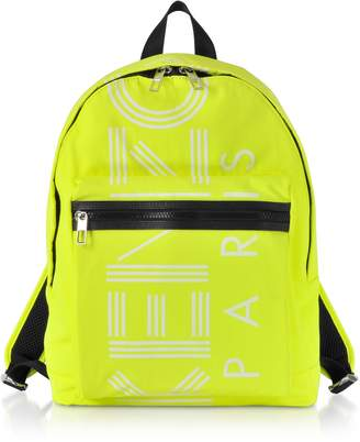 Kenzo Citron Nylon Large Sport Backpack