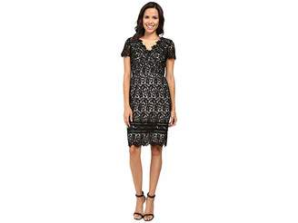 NUE by Shani Lace Dress with Trim Detail Women's Dress