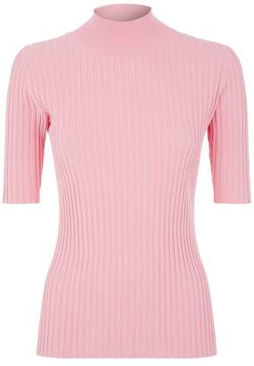 Diane von Furstenberg Ribbed Turtleneck Sweater