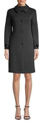 Max Mara Dama Jewel-Cuff Scuba Coat