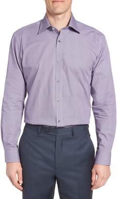 Ted Baker Trafalf Trim Fit Print Dress Shirt