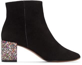 Jonak Darrus Leather Boots with Glitter Heel