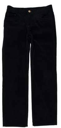 Loro Piana Mid-Rise Corduroy Pants