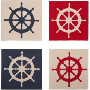 Thomas Paul Ship Wheel Cocktail Napkins