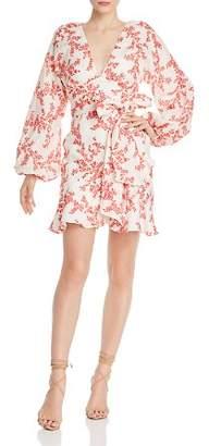 Keepsake Fallen Floral-Print Dress