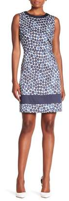 Anne Klein Printed Sheath Dress