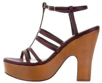 Marni Satin Multistrap Sandals