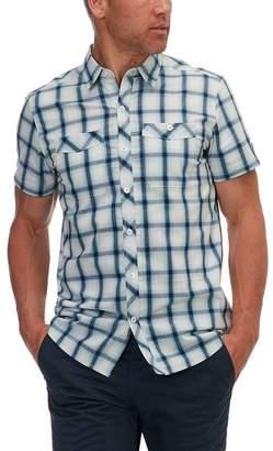 Basin and Range Kings Peak Plaid Short-Sleeve Shirt - Men's