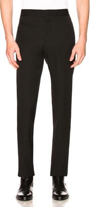 Saint Laurent Flat Front Trousers