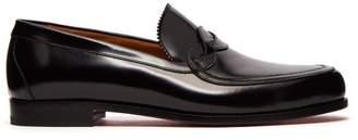 Christian Louboutin Dedonaki Leather Loafers - Mens - Black