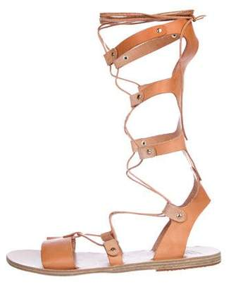 Ancient Greek Sandals Leather Gladiator Sandals