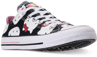 Converse Chuck Taylor Ox Hello Kitty Casual Sneakers from Finish Line