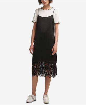 DKNY T-Shirt Slip Dress, Created for Macy's