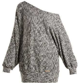Pepper & Mayne - Graces Off The Shoulder Fleece Sweater - Womens - Grey