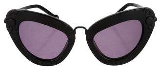 Preen by Thornton Bregazzi Carlisle Cat-Eye Sunglasses
