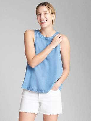 Gap Split-Back Tank Top in TENCEL