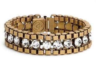 Women's Loren Hope 'Carly' Crystal & Chain Bracelet $98 thestylecure.com