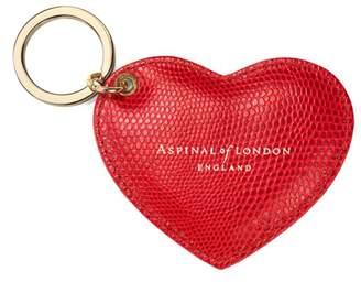 Aspinal of London Heart Key Ring