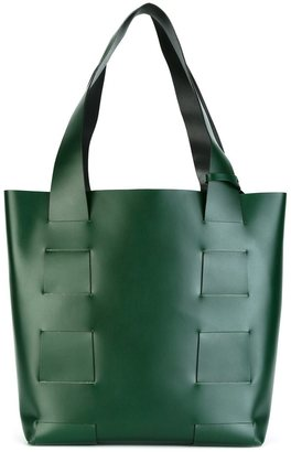 Robert Clergerie 'vianni' tote $925 thestylecure.com