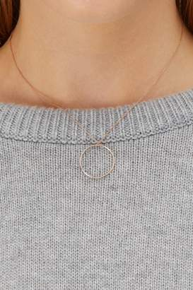 ginette_ny Baby Circle chain necklace